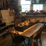 old farm table