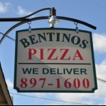 Bentinos Pizza sign