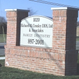 Richard Cronley DDS sign