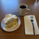 pie and coffee image