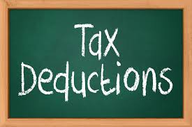 tax deduction image